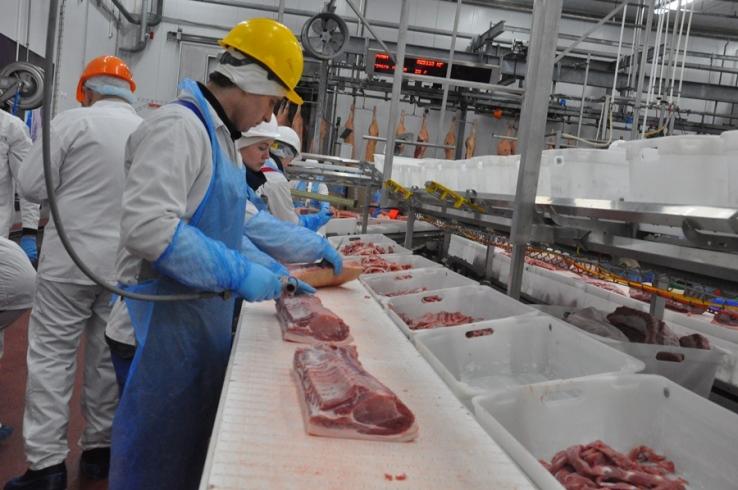 Tambov ocupó el segundo lugar en la exportación de carne de cerdo