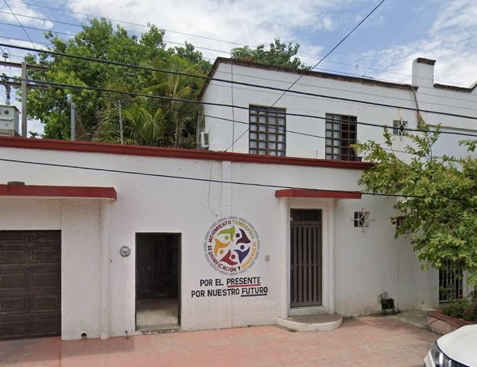 """Movimiento instala basureros y bancas en el """"Ojito"""" de Santa Ana en Victoria"""