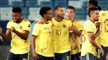 Colombia le gana a Ecuador con gol de Cardona en inicio de Copa América