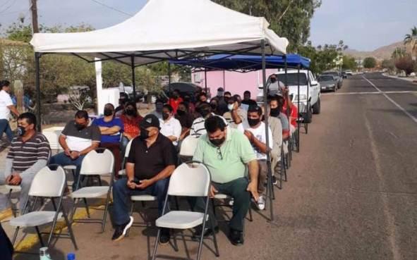 En Baja California Sur, exige pago sindicato de burócratas de Loreto