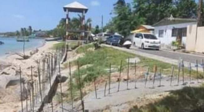 Intervienen en Santa Lucia por un aparente desarrollo ilegal en Gros Islet