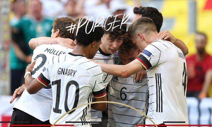 Alemania golea a Portugal y recobrando opciones de llegar a octavos de final