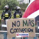 Megainvestigación de corrupción en Costa Rica, implica a constructoras