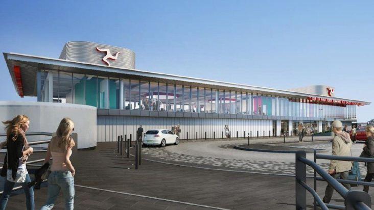 Financiación de la terminal de ferry de Liverpool en Isla de Man en suspenso