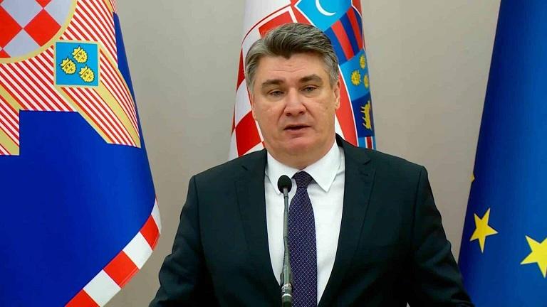 'No nos vacunaremos más', afirmó el presidente de Croacia, Zoran Milanovic