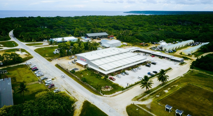El mayor complejo minorista de supermercados de Niue, está a la venta