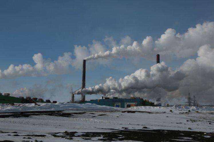 Hay exceso de dióxido de nitrógeno y oxido de cobre en el aire de Norilsk, Krasnoyarsk