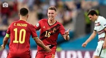 En futbol, Bélgica elimina a Portugal y enfrentará a Italia en cuartos