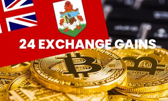 24 Exchange recibe licencia de comercio de criptomonedas en Bermudas