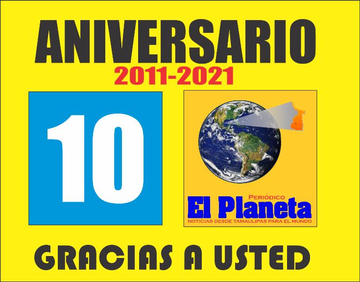 El Periódico El Planeta cumple 10 años, hoy enfrentando la política Estatal contra la prensa