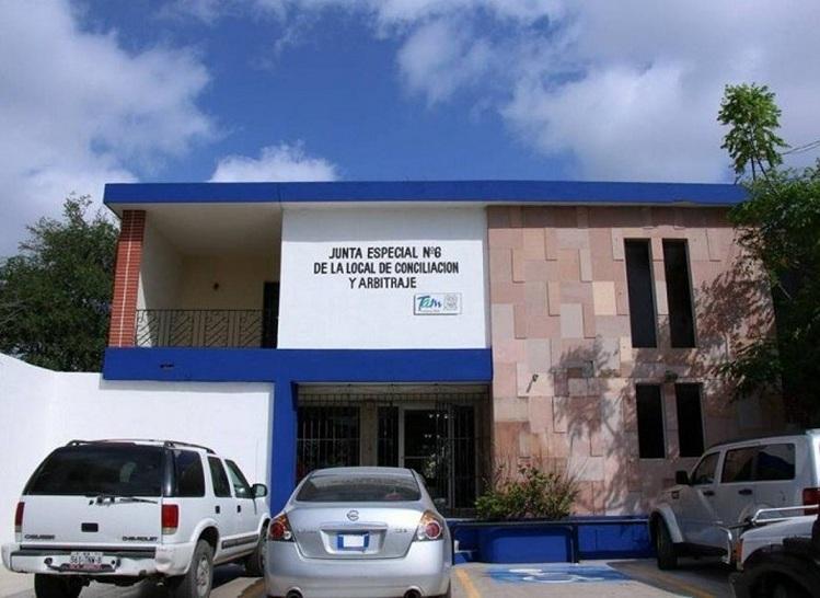 La Junta 6 en Matamoros, en cuatro meses no admite demanda laboral, tenia 24 horas para hacerlo